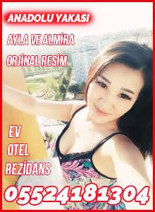 Anadolu Yakası Escort Bayanlar Ayla ve Almira