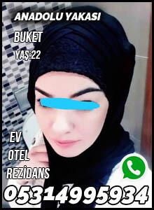 Anadolu Yakası Tesettürlü Escort Bayan Buket