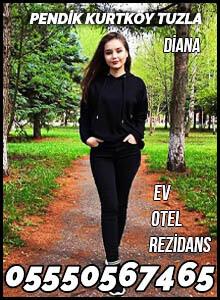 Pendik Kurtköy Tuzla Escort Bayan Diana