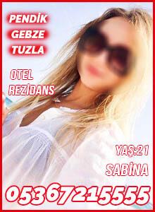Pendik Tuzla Gebze Rus Escort Bayan Sabina