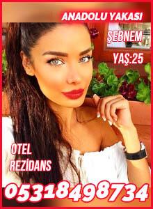 Anadolu Yakası Escort Bayan Şebnem