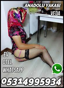 Anadolu Yakası Escort Bayan Veda