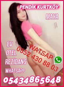 Pendik Kurtköy Whatsapp Escort Bayan Maya